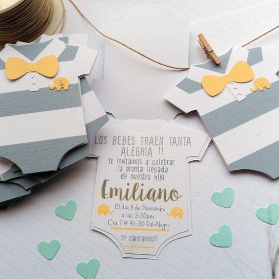 Mira estas invitaciones para baby shower bastante originales y unicas. Tarjetas de niño o niña para tus invitados, ideas paso a paso que no te perderás.
