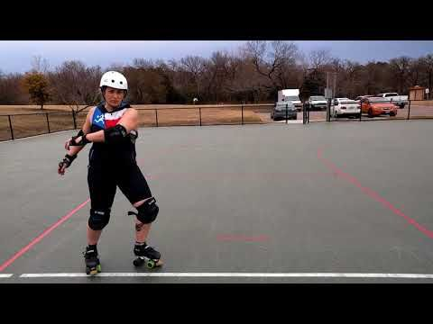 Roller derby training tips: fixing tentative transitions with tea - YouTube