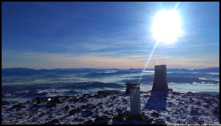 Babia Góra #Diablak #Beskidy #Babiogórski-Park-Narodowy #BPN #góry #Poland #Polska #mountains panorama-na-Tatry-z-Babiej Góry #Zawoja #szlaki_górskie #turystyka