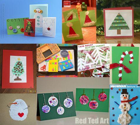 Que tal surpreender as pessoas queridas com desses 20 cartões de natal criativos que você pode fazer com os filhos?