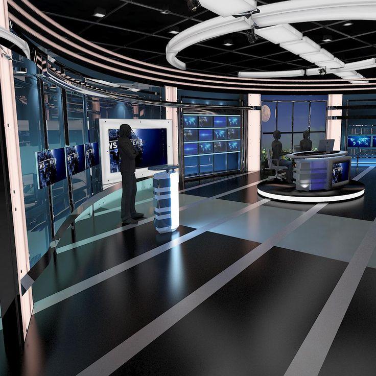 1000 images about tv studio 3d models on pinterest for Stage 47 designhotel
