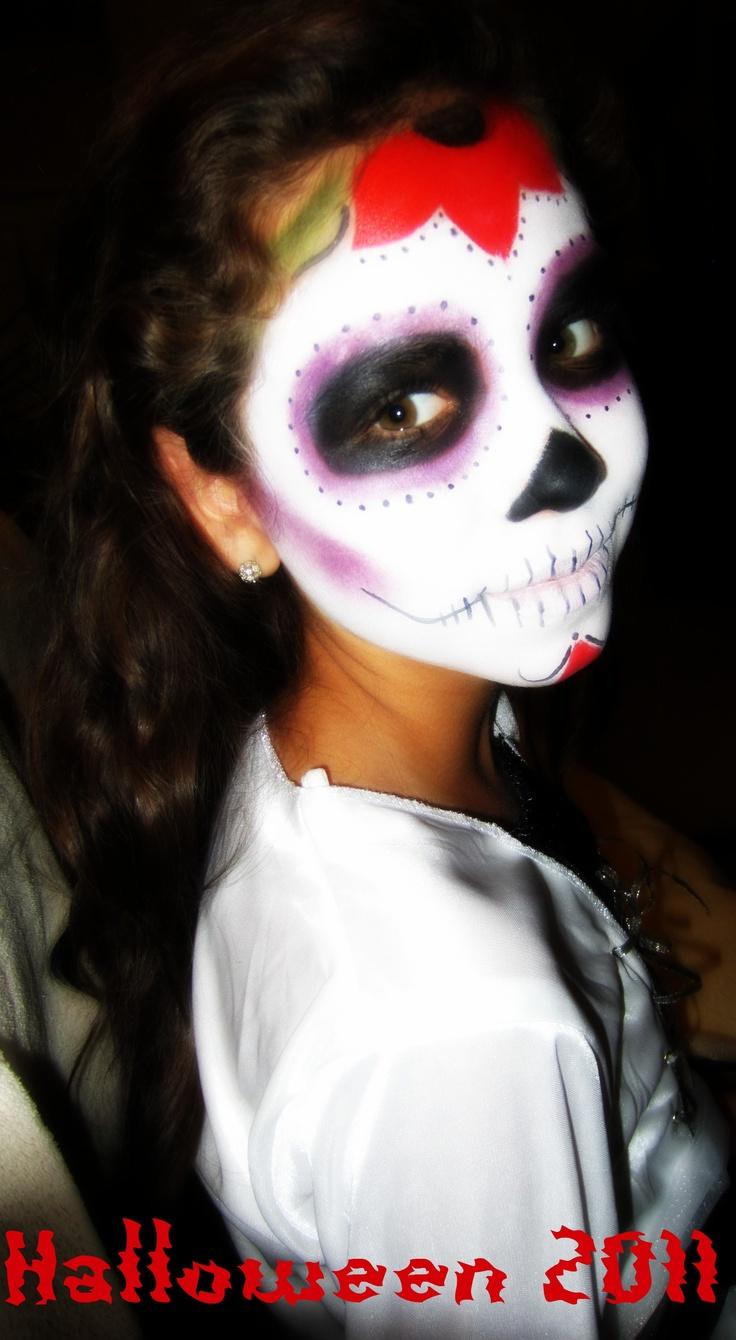Dia de Los Muertos makeup by Me.