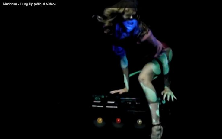 "Madonna workin' the Dynasty ES-555 ""Disco Lite"" in her ""Hung Up"" video. Who created the ES-555?"