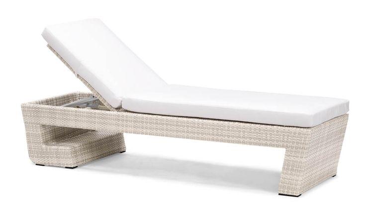 Leżaki, siedziska, leżanki : Emperor - meble ogrodowe z technorattanu leżak ogrodowy - Twoja Siesta