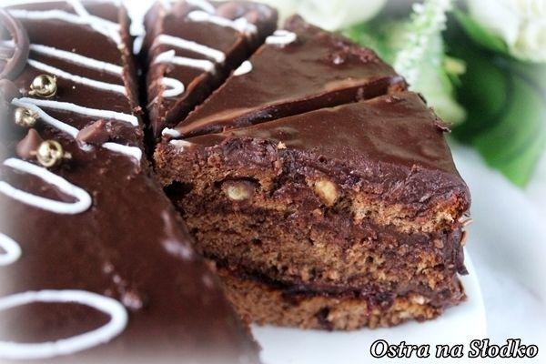 tort czekoladowy , najlepszy tort , ciasto czekoladowe , krem czekoladowy , krem do tortow , latwy tort , pyszne torty , ostra na slodko , biszkopt czekoladowy