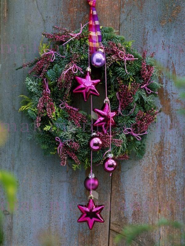 #couronne de #Noël