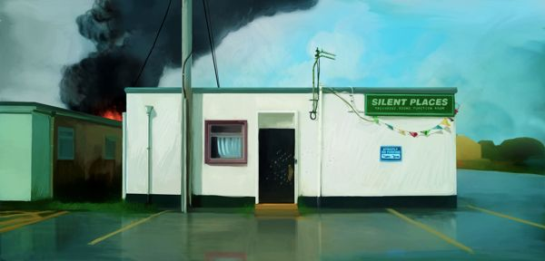 silent places by olivier masson, via Behance