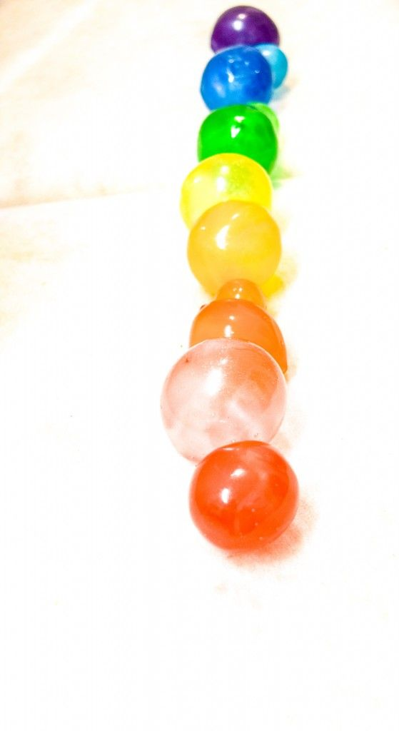 RAINBOW GELATINE BUBBLES