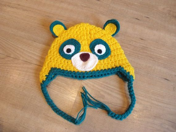 Special Agent OSO hat made to order from newborn to age by LouBLu, £13.00