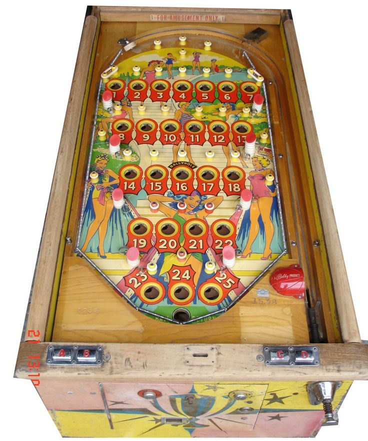 18 Best Bingo Pinball Images On Pinterest Arcade Games