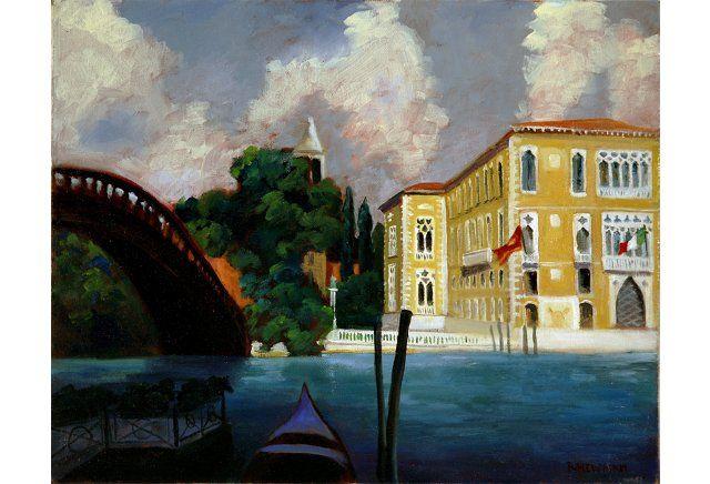 Accademia Bridge in Venice