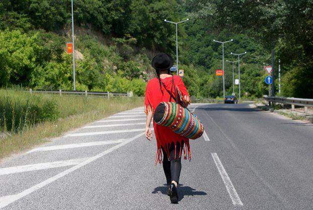 Veliko Tarnovo, Bulgaria. On the road. Literally.