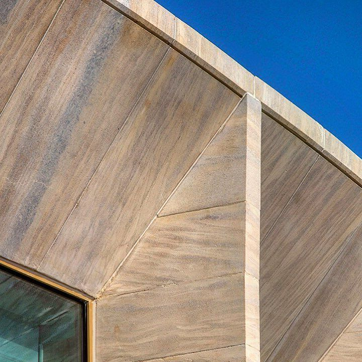 Worcester College #oxford by Niall McLaughlin #architecturalphotography #architecture #detail #bluesky