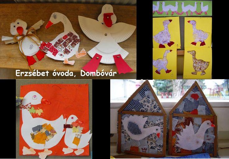Óvodai Élet: Márton napi dekorációk (tőletek)
