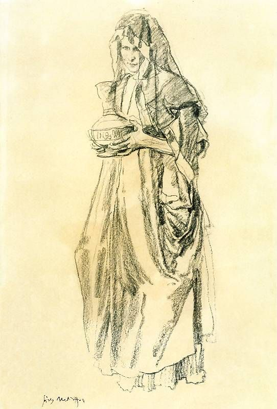 Józef Mehoffer - M.Magdalena jasna