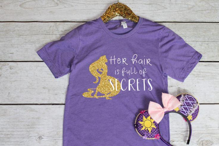 PRE-ORDER SHIP DATE 10/30 - Her Hair is Full of Secrets - Disney Mean Girls Shirt