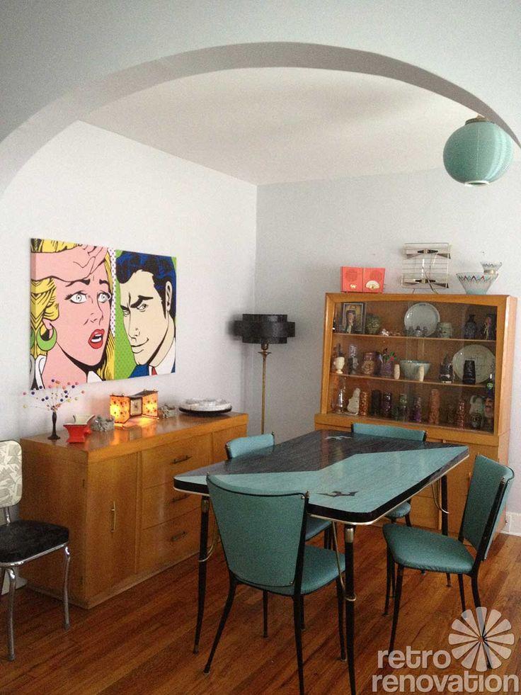 102 best retro dining sets images on pinterest | retro kitchens