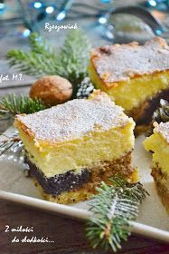 Świąteczne ciasta muszą być wyjątkowe, ale przede wszystkim smaczne;) U nas zawsze obowiązkowy jest sernik i makowiec, mile widziane są równ...