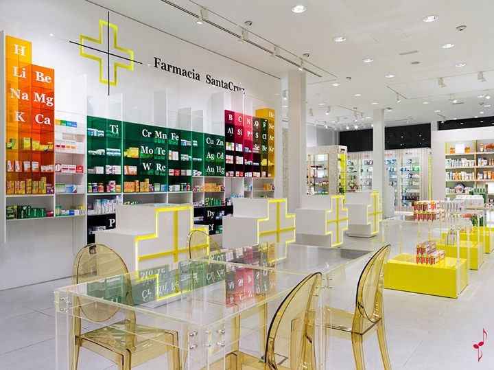 SantaCruz Pharmacy by Marketing Jazz, Santa Cruz de Tenerife store design #www.instorevoyage.com #in-store marketing #visual merchandising