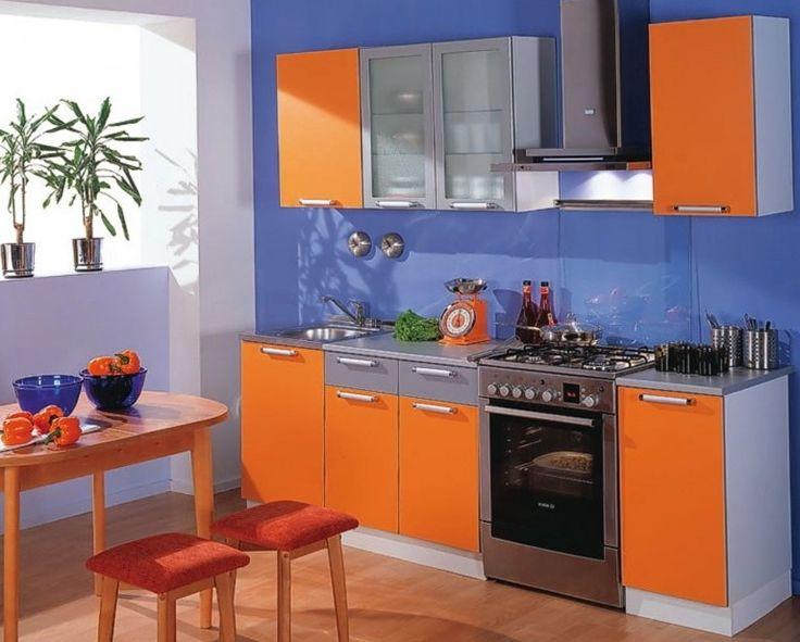 Light Orange Kitchen 57 best bright colorful kitchen images on pinterest | kitchen