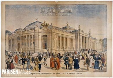 H. Meyer.  Le Petit journal : Exposition universelle de 1900, le Grand Palais . Musée des Beaux-Arts de la Ville de Paris, Petit Palais.
