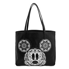 Mickey Mouse Floral Tote by Loungefly