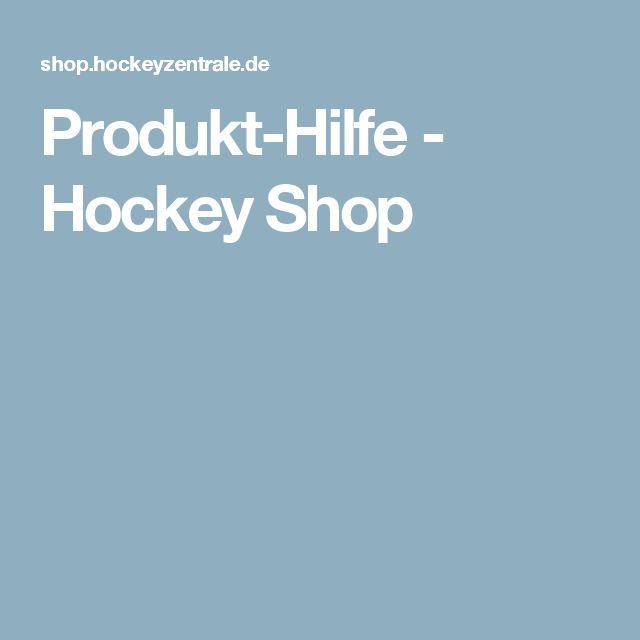 Produkt-Hilfe - Hockey Shop