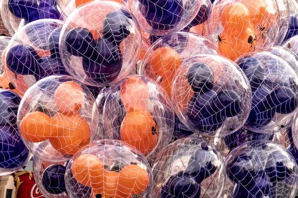 Halloween Balloons at Disneyland