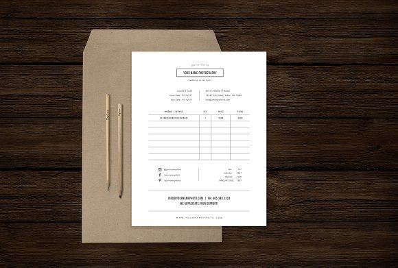 Photography Forms Receipt Template Invoice Template Squarespace Website Templates Receipt Template