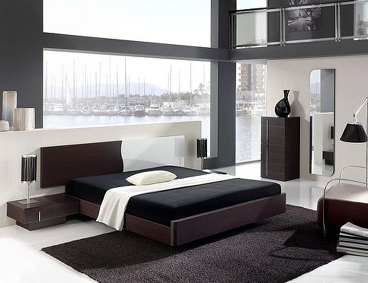Incredible black and white cool bedroom ideas for guys - Black and grey bedroom furniture ...