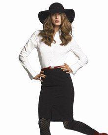 Chemise et jupe H&M - Mode petit prix - La jupe taille haute s'impose cet hiver. Avec ce modèle racé, la coupe droite prend une tournure résolument lookée. Laissez-vous tenter ! jupe taille haute, H&M : 19,90 € Informations : www...