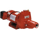 Red Lion 18 GPM 3/4 HP Cast Iron Convertible Jet Pump w/ Injector Kit. This pump comes with a rugged cast iron casing and has a glass filled thermoplastic impeller and diffuser. This pump can also be changed from shallow well (up to 25') to deep (less than 90') applications with the injector, which comes included!       Consider this the whole kit and caboodle to supply your rural, farm home or cabin with a fresh supply of water.