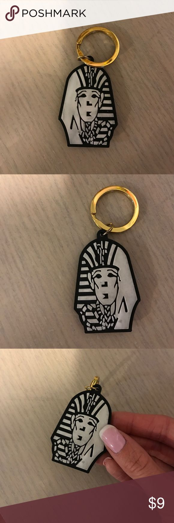 Tyga Last Kings keychain Perfect condition aside from some color transfer on the white. Thank you for looking!  I ship within 2 days shipping excluding holidays I do not trade! I only accept offers through the offer button! Thank you for shopping and feel free to ask any questions! last kings Accessories Key & Card Holders