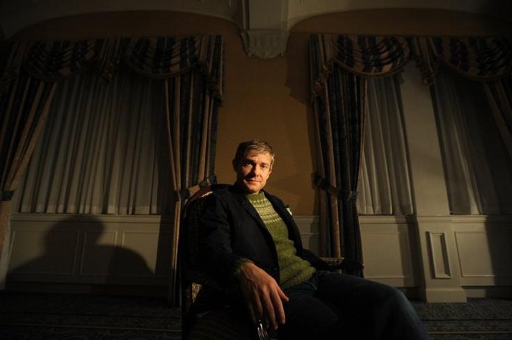 'Hobbit': Martin Freeman on Bilbo's courage, moral code - Los Angeles Times 12/17/2012  Dec. 17, 2012