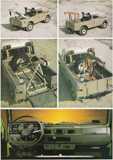 Land Rover Santana Grua