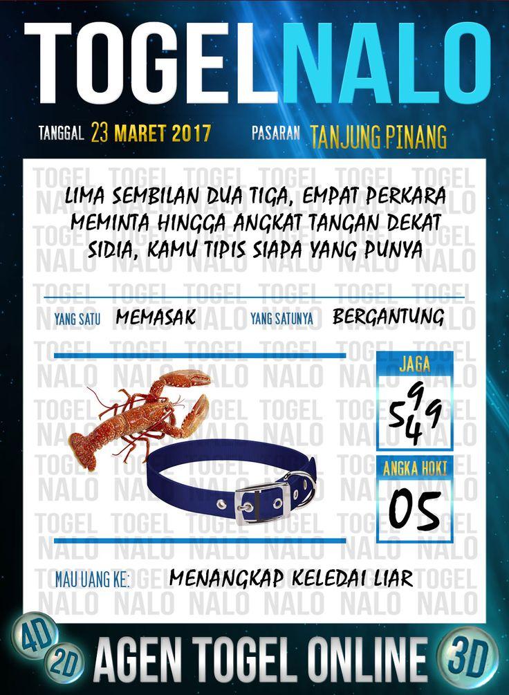 Kode Angka 4D Togel Wap Online TogelNalo Tanjung Pinang 23 Maret 2017