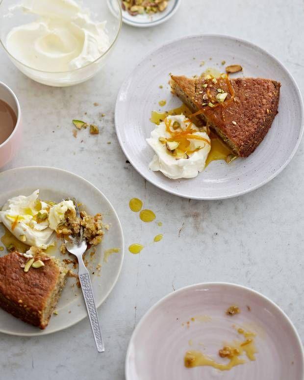 Bill Granger Lemon Meringue Cake