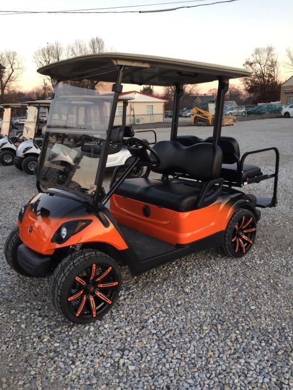 2009 Yamaha 48v Electric golf cart Custom two tone Paint, Wheels etc!