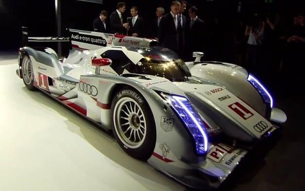 Audi R18 e-tron makes history at Le Mans (2012)