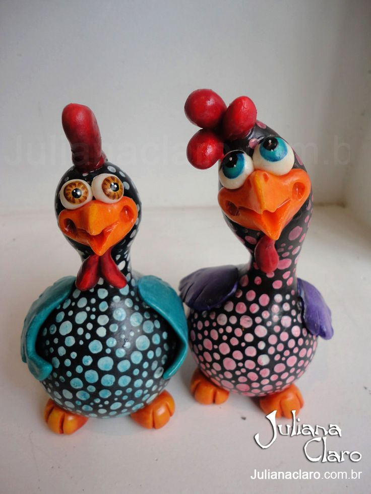 Juliana Claro - Artesanato em Cabaça: Aves