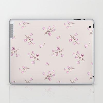 Almond's Blossoms Laptop & iPad Skin by Evgenia Drouga - $25.00