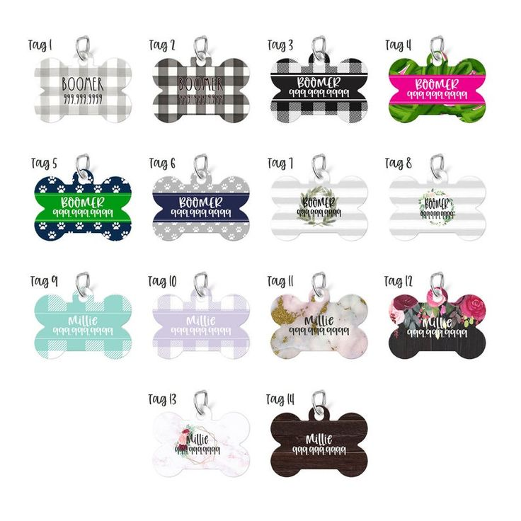 Personalized Pet Tag  Pet ID Tag Dog Tag for Dog ID Tag image 1 – Cool Etsy Finds Group Board