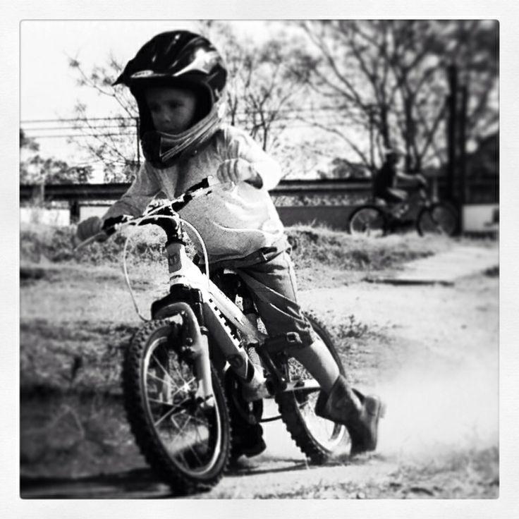 Caleb shredding it at PWC bike park in Bryanston - Johannesburg