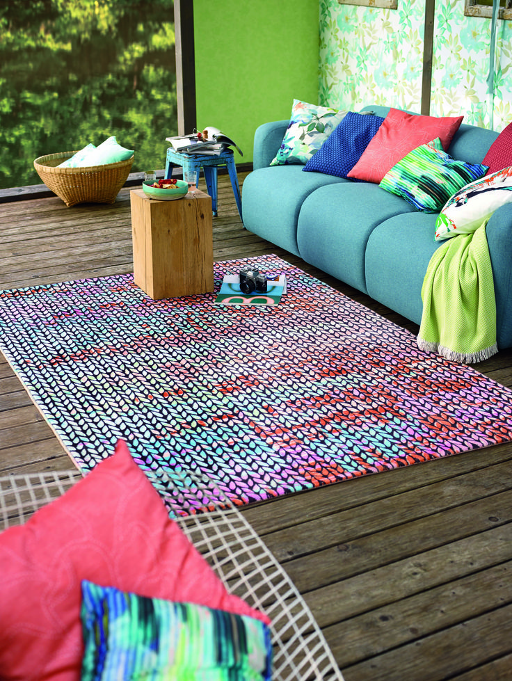 Colours that make your livingroom come alive! #colours #Esprit