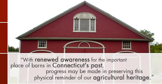 site documenting historic barns in CT--project of the CT Historic Trust