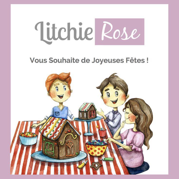 #Montréal #Enfants #Parents #Noel #LitchieRose
