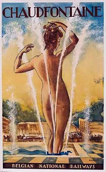 Carteles y afiches de viajes sexy railroad posters pinterest affiches publicitaires - Carteles retro ...