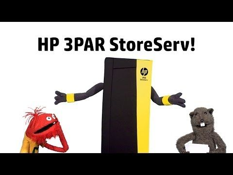 The Glove and Boots HP 3PAR StoreServ Commercial - YouTube