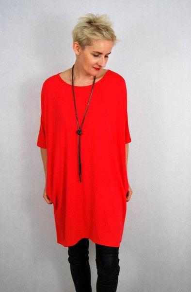 Sukienka tunika plus size - Lalabaj_Butik - Moda dla puszystych