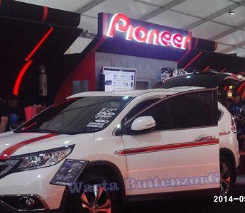 Car Audio Display Pioneer